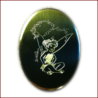 Engraved Custom Artwork (Tinkerbell)
