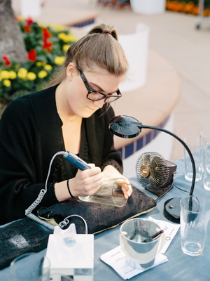 Engraving Activations Los Angeles