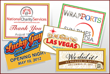 Custom Labels - Corporate Events