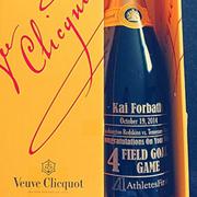 Kai Forbath - Engraved Veuve Clicquot